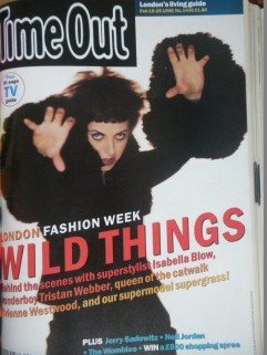 Isabella Blow, Time Out Feb 2008